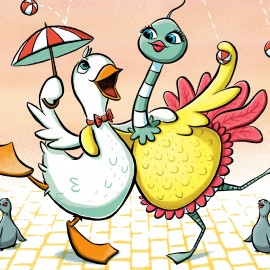 Dill & Bizzy: An Odd Duck and a Strange Bird is here!